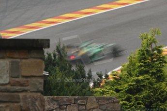 World © Octane Photographic Ltd. Belgian GP Friday 23rd August 2013 F1 Practice 1. Caterham F1 Team CT03 - Heikki Kovalainen. Digital Ref : 0784cb7d1928