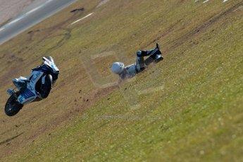 World © Octane Photographic Ltd. Thundersport GB 31st March 2013. The Van Insurer 600 Sportsman Elite. Richard McNeill - McNeill Racing - Suzuki 600F. Digital Ref : 0609ce1d6187