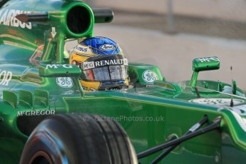 World © Octane Photographic Ltd. Formula 1 Winter testing, Barcelona – Circuit de Catalunya, 28th February 2013. Caterham CT03, Charles Pic. Digital Ref: 0581lw1d6775
