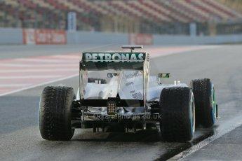 World © Octane Photographic Ltd. Formula 1 Winter testing, Barcelona – Circuit de Catalunya, 28th February 2013. Mercedes AMG Petronas  F1 W04 – Lewis Hamilton. Digital Ref: 0581lw1d6812