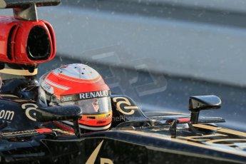 World © Octane Photographic Ltd. Formula 1 Winter testing, Barcelona – Circuit de Catalunya, 28th February 2013. Lotus E31, Romain Grosjean. Digital Ref: 0581lw1d6910