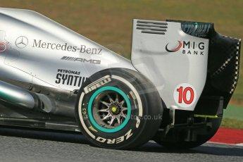 World © Octane Photographic Ltd. Formula 1 Winter testing, Barcelona – Circuit de Catalunya, 2nd March 2013. Mercedes AMG Petronas  F1 W04 – Lewis Hamilton. Digital Ref: 0583lw1d9725