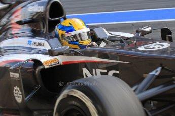 World © Octane Photographic Ltd. Formula 1 Winter testing, Barcelona – Circuit de Catalunya, 2nd March 2013. Sauber C32, Esteban Gutierrez. Digital Ref: 0583lw7d0702