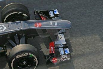 World © Octane Photographic Ltd. Formula 1 Winter testing, Barcelona – Circuit de Catalunya, 3rd March 2013. Sauber C32, Nico Hulkenberg. Digital Ref: 0584lw1d0029