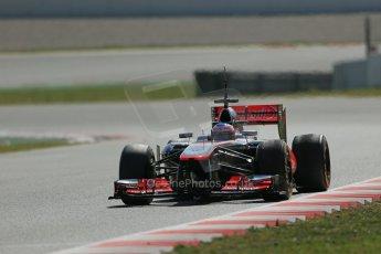 World © Octane Photographic Ltd. Formula 1 Winter testing, Barcelona – Circuit de Catalunya, 3rd March 2013. Vodafone McLaren Mercedes MP4/28. Jenson Button. Digital Ref: 0584lw1d0780