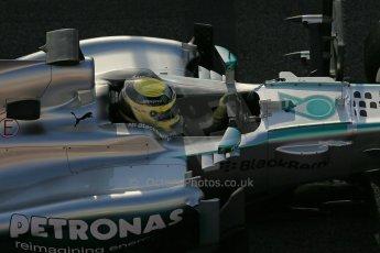 World © Octane Photographic Ltd. Formula 1 Winter testing, Barcelona – Circuit de Catalunya, 3rd March 2013. Mercedes AMG Petronas  F1 W04 – Nico Rosberg. Digital Ref: 0584lw1d9997