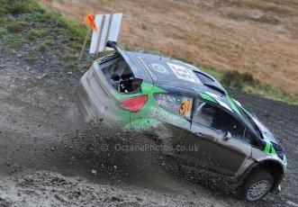 World © Octane Photographic Ltd./Louise Tope. WRC GB 15th November 2013. Digital Ref. : 0874ltd32027