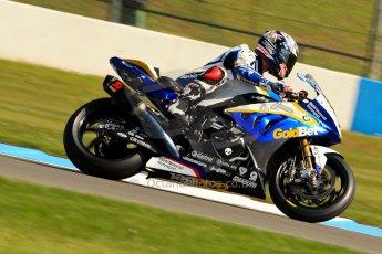 World © Octane Photographic Ltd. World Superbikes (SBK) European GP – Donington Park – Free Practice. BMW Motorrad GoldBet SBK – BMW S1000RR – Marco Melandri. Saturday 25th May 2013. Digital Ref : 0698ce1d3286