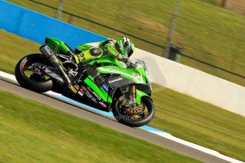 World © Octane Photographic Ltd. World Superbikes (SBK) European GP – Donington Park – Free Practice. Team Pedercini - Kawasaki ZX-10R – Federico Sandi. Saturday 25th May 2013. Digital Ref : 0698ce1d3293
