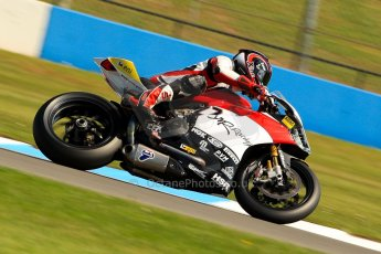 World © Octane Photographic Ltd. World Superbikes (SBK) European GP – Donington Park – Free Practice. MR-Racing – Ducati 1199 Panigale R – Max Neukirchner. Saturday 25th May 2013. Digital Ref : 0698ce1d3327
