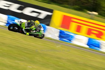 World © Octane Photographic Ltd. World Superbikes (SBK) European GP – Donington Park – Free Practice. Team Pedercini – Kawasaki ZX-10R – Alexander Lundh. Saturday 25th May 2013. Digital Ref : 0698ce1d3542