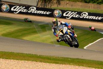 World © Octane Photographic Ltd. World Superbikes (SBK) European GP – Donington Park – Qualifying Practice. BMW Motorrad GoldBet SBK – BMW S1000RR – Chaz Davies. Saturday 25th May 2013. Digital Ref :