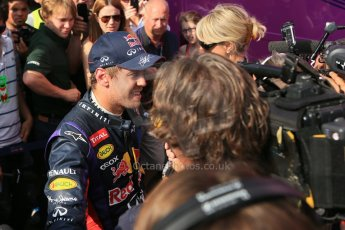 World © Octane Photographic Ltd. Formula 1 - Young Driver Test - Silverstone. Friday 19th July 2013. Day 3. Infiniti Red Bull Racing RB9 - Sebastian Vettel. Digital Ref : 0755lw1d0224