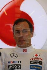 World © Octane Photographic Ltd. Formula 1 - Young Driver Test - Silverstone. Friday 19th July 2013. Day 3. Vodafone McLaren Mercedes MP4/28 – Gary Paffett. Digital Ref: 0755lw1d9786