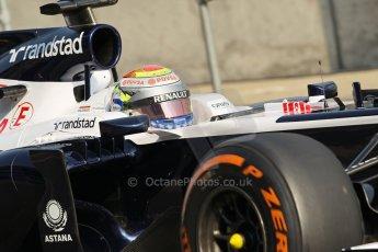 World © Octane Photographic Ltd. Formula 1 - Young Driver Test - Silverstone. Thursday 18th July 2013. Day 2. Williams FW35 - Pastor Maldonado. Digital Ref : 0753lw1d6056