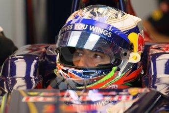 World © Octane Photographic Ltd. Formula 1 - Young Driver Test - Silverstone. Thursday 18th July 2013. Day 2. Infiniti Red Bull Racing RB9 - Antonio Felix da Costa. Digital Ref : 0753lw1d6064