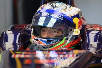 World © Octane Photographic Ltd. Formula 1 - Young Driver Test - Silverstone. Thursday 18th July 2013. Day 2. Infiniti Red Bull Racing RB9 - Antonio Felix da Costa. Digital Ref : 0753lw1d6070