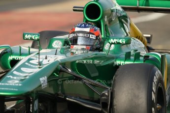 World © Octane Photographic Ltd. Formula 1 - Young Driver Test - Silverstone. Thursday 18th July 2013. Day 2. Caterham F1 Team CT03 – Will Stevens. Digital Ref : 0753lw1d6110