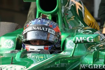 World © Octane Photographic Ltd. Formula 1 - Young Driver Test - Silverstone. Thursday 18th July 2013. Day 2. Caterham F1 Team CT03 – Will Stevens. Digital Ref : 0753lw1d6166