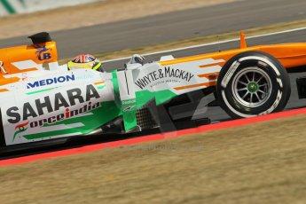 World © Octane Photographic Ltd. Formula 1 - Young Driver Test - Silverstone. Thursday 18th July 2013. Day 2. Sahara Force India VJM06  - James Calado. Digital Ref : 0753lw1d6208