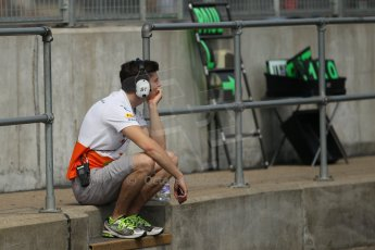 World © Octane Photographic Ltd. Formula 1 - Young Driver Test - Silverstone. Thursday 18th July 2013. Day 2. Sahara Force India VJM06  - James Calado. Digital Ref : 0753lw1d6514