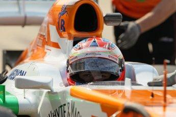 World © Octane Photographic Ltd. Formula 1 - Young Driver Test - Silverstone. Thursday 18th July 2013. Day 2. Sahara Force India VJM06  -  Paul Di Resta. Digital Ref : 0753lw1d6557