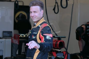 World © Octane Photographic Ltd. Formula 1 - Young Driver Test - Silverstone. Thursday 18th July 2013. Day 2. Lotus F1 Team E21 - Davide Valsecchi. Digital Ref : 0753lw1d9031