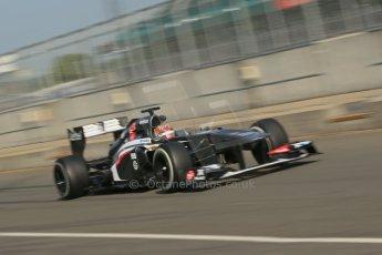 World © Octane Photographic Ltd. Formula 1 - Young Driver Test - Silverstone. Thursday 18th July 2013. Day 2. Sauber C32 - Robin Frijns. Digital Ref : 0753lw1d9092