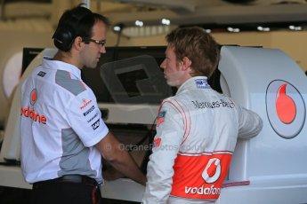 World © Octane Photographic Ltd. Formula 1 - Young Driver Test - Silverstone. Thursday 18th July 2013. Day 2. Vodafone McLaren Mercedes MP4/28 - Oliver Turvey. Digital Ref : 0753lw1d9226