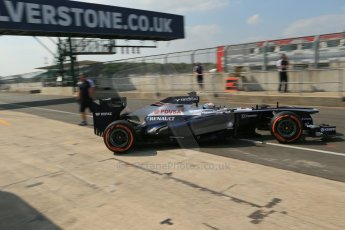 World © Octane Photographic Ltd. Formula 1 - Young Driver Test - Silverstone. Thursday 18th July 2013. Day 2. Sauber C32 - Nico Hülkenberg. Digital Ref : 0753lw1d9717