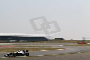 World © Octane Photographic Ltd. Formula 1 - Young Driver Test - Silverstone. Wednesday 17th July 2013. Day 1. Williams FW35 - Daniel Juncadella. Digital Ref : 0752lw1d5873