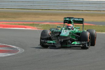 World © Octane Photographic Ltd. Formula 1 - Young Driver Test - Silverstone. Wednesday 17th July 2013. Day 1. Caterham F1 Team CT03 - Alex Rossi. Digital Ref : 0752lw1d8651