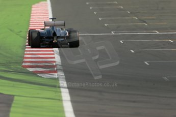 World © Octane Photographic Ltd. Formula 1 - Young Driver Test - Silverstone. Wednesday 17th July 2013. Day 1. Sauber C32 - Robin Frijns. Digital Ref : 0752lw1d8799