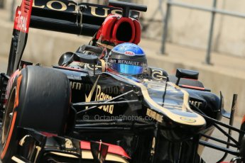 World © Octane Photographic Ltd. Formula 1 - Young Driver Test - Silverstone. Wednesday 17th July 2013. Day 1. Lotus F1 Team E21 - Nicolas Prost. Digital Ref : 0752lw1d8895