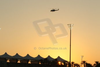 World © Octane Photographic Ltd. Friday 21st November 2014. Abu Dhabi Grand Prix - Yas Marina Circuit - Formula 1 Practice 2. Yas Marina circuit at Sunset. Digital Ref: 1161CB1D6944