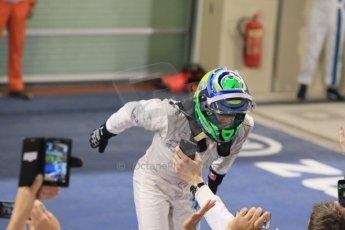 World © Octane Photographic Ltd. Sunday 23rd November 2014. Abu Dhabi Grand Prix - Yas Marina Circuit - Formula 1 Podium. Williams Racing - Felipe Massa (2nd). Digital Ref: 1173CB1D0304