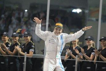 World © Octane Photographic Ltd. Sunday 23rd November 2014. Abu Dhabi Grand Prix - Yas Marina Circuit - Formula 1 Podium. Williams Racing - Felipe Massa (2nd). Digital Ref: 1173CB1D0704