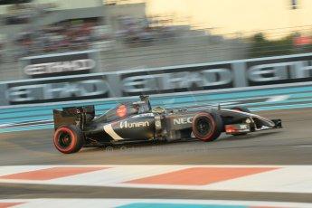 World © Octane Photographic Ltd. 2014 Formula 1 Abu Dhabi Grand Prix, F1 Qualifying, Saturday 22nd November 2014. Sauber C33 – Adrian Sutil. Digital Ref : 1166CB1D8276