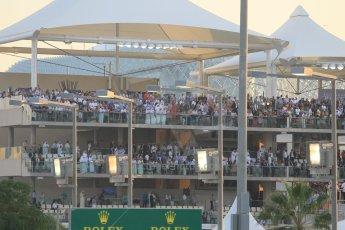 World © Octane Photographic Ltd. Sunday 23rd November 2014. Abu Dhabi Grand Prix - Yas Marina Circuit - Formula 1 Race. Paddock Club. Digital Ref: