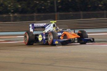 World © Octane Photographic Ltd. 2014 Formula 1 Abu Dhabi Grand Prix, GP2 Qualifying, Friday 21st November 2014. Johnny Cecotto - Trident. Digital Ref : 1162CB1D7336
