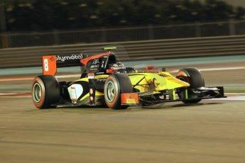 World © Octane Photographic Ltd. 2014 Formula 1 Abu Dhabi Grand Prix, GP2 Qualifying, Friday 21st November 2014. Stephane Richelmi - DAMS. Digital Ref : 1162CB1D7342