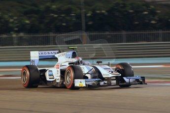 World © Octane Photographic Ltd. 2014 Formula 1 Abu Dhabi Grand Prix, GP2 Qualifying, Friday 21st November 2014. Marco Sorensen - MP Motorsport. Digital Ref : 1162CB1D7350