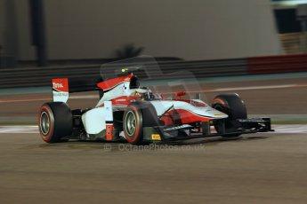 World © Octane Photographic Ltd. 2014 Formula 1 Abu Dhabi Grand Prix, GP2 Qualifying, Friday 21st November 2014. Stoffel Vandoorne - ART Grand Prix. Digital Ref : 1162CB1D7360