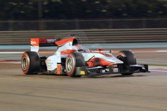 World © Octane Photographic Ltd. 2014 Formula 1 Abu Dhabi Grand Prix, GP2 Qualifying, Friday 21st November 2014. Takuya Izawa - ART Grand Prix. Digital Ref : 1162CB1D7379