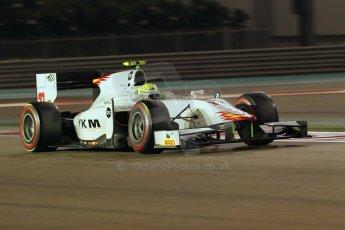 World © Octane Photographic Ltd. 2014 Formula 1 Abu Dhabi Grand Prix, GP2 Qualifying, Friday 21st November 2014. Arthur Pic - Campos Racing. Digital Ref : 1162CB1D7417