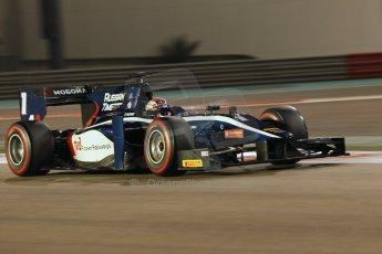 World © Octane Photographic Ltd. 2014 Formula 1 Abu Dhabi Grand Prix, GP2 Qualifying, Friday 21st November 2014. Mitch Evans - RT Russian Time. Digital Ref : 1162CB1D7432