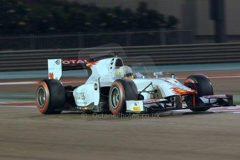World © Octane Photographic Ltd. 2014 Formula 1 Abu Dhabi Grand Prix, GP2 Qualifying, Friday 21st November 2014. Arthur Pic - Campos Racing. Digital Ref : 1162CB1D7435