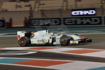 World © Octane Photographic Ltd. 2014 Formula 1 Abu Dhabi Grand Prix, GP2 Qualifying, Friday 21st November 2014. Arthur Pic - Campos Racing. Digital Ref : 1162CB1D7463