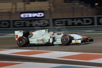 World © Octane Photographic Ltd. 2014 Formula 1 Abu Dhabi Grand Prix, GP2 Qualifying, Friday 21st November 2014. Arthur Pic - Campos Racing. Digital Ref : 1162CB1D7464