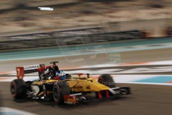World © Octane Photographic Ltd. 2014 Formula 1 Abu Dhabi Grand Prix, GP2 Qualifying, Friday 21st November 2014. Jolyon Palmer - DAMS. Digital Ref : 1162CB1D7585